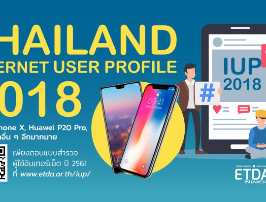 THAILAND INTERNET USER PROFILE 2018