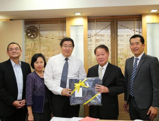 ธพส. ร่วมสวัสดีปีใหม่ 2562 รัฐมนตรีช่วยว่าการกระทรวงการคลัง