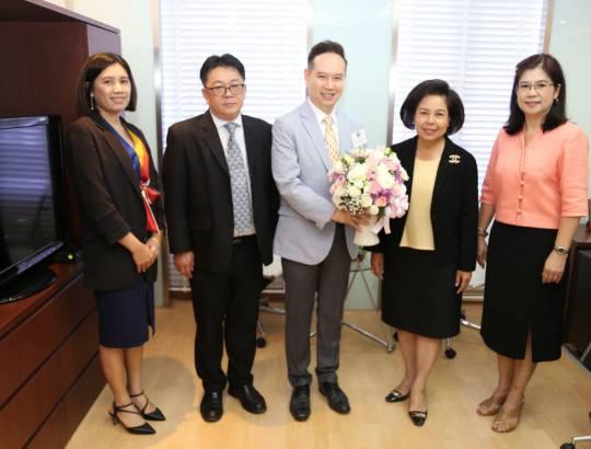 ธพส. ร่วมแสดงความยินดีกับนางปานทิพย์ ศรีพิมล เนื่องในโอกาสเข้ารับตำแหน่งใหม่