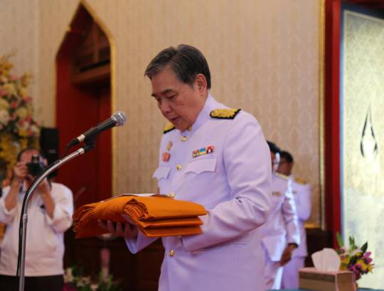 ธพส. เข้าร่วมงานกฐินพระราชทานกระทรวงการคลัง ประจำปี 2560