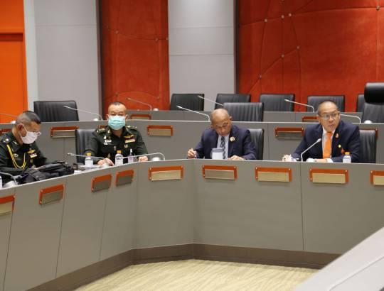 ธพส. ร่วมประชุมการศึกษารายละเอียดและติดตามความคืบหน้าในการดำเนินการก่อสร้างถานนหมายเลข ๑๐ และหมายเลข ๑๑