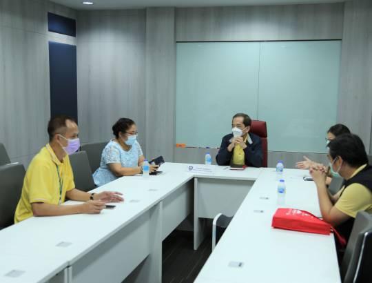 ธพส. ร่วมกับสำนักงานคณะกรรมการการแข่งขันทางการค้า และกรมควบคุมโรค ประชุมป้องกันโควิด-19