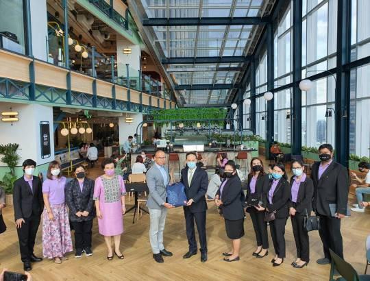 ธพส. เยี่ยมชม Innovation Lab และ Co-Working Space