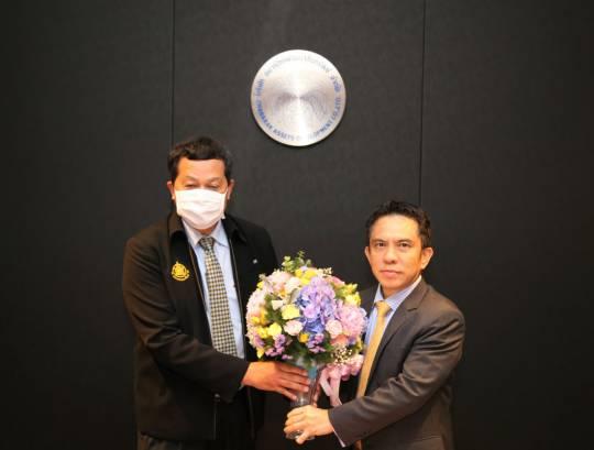 ประธานกรรมการ ธพส. ร่วมแสดงความยินดีกับ ผอ.สทอภ. ท่านใหม่