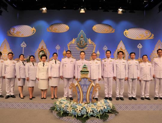 ธพส. บันทึกเทปถวายพระพรชัยมงคลเนื่องใน วันเฉลิมพระชนมพรรษา สมเด็จพระนางเจ้าสิริกิติ์ พระบรมราชินีนาถ พระบรมราชชนนีพันปีหลวง 12 สิงหาคม