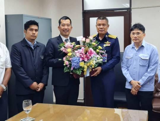 ธพส.ร่วมแสดงความยินดีกับผู้บังคับทหารอากาศดอนเมือง ท่านใหม่