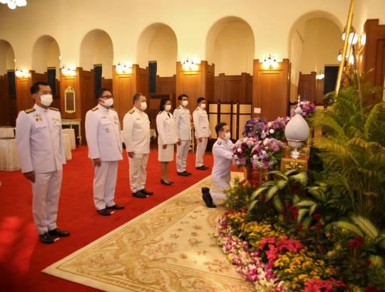 ธพส. ถวายแจกันดอกไม้และลงนามถวายพระพรสมเด็จพระกนิษฐาธิราชเจ้า กรมสมเด็จพระเทพรัตนราชสุดา ฯ สยามบรมราชกุมารี