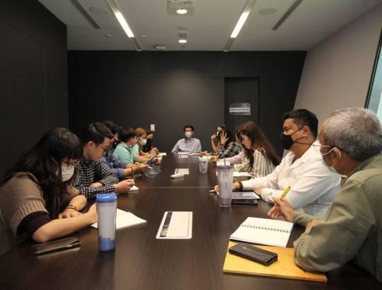 ธพส. ประชุมเตรียมการจัดกิจกรรมวันธรรมาภิบาล CG Day ประจำปี 2564
