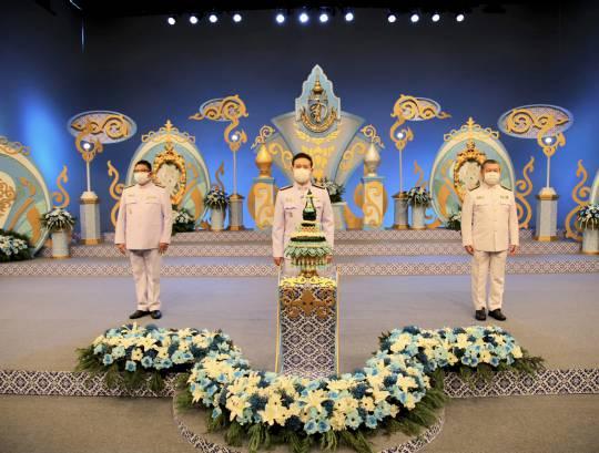 ธพส. บันทึกเทปถวายพระพรชัยมงคลเนื่องในวันเฉลิมพระชนมพรรษา สมเด็จพระนางเจ้าสิริกิติ์ พระบรมราชินีนาถ พระบรมราชชนนีพันปีหลวง 12 สิงหาคม 2564
