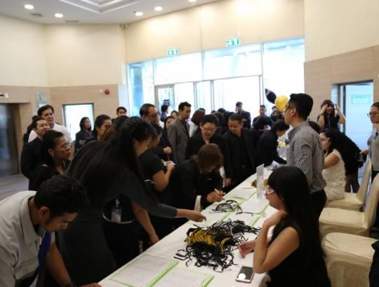 ธพส. ได้จัดกิจกรรมสร้างความสัมพันธ์กับหน่วยงานราชการ (Thank You Party) ณ ห้องอเนกประสงค์ ชั้น 1 อาคารศูนย์ประชุมทรงกลม ศูนย์ราชการฯ